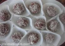 כדורי שוקולד לפסח