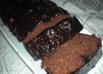 עוגת שוקולד עם יין