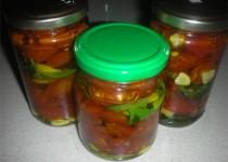 עגבניות מיובשות עם שמן זית