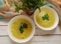 מרק כרובית ובצל