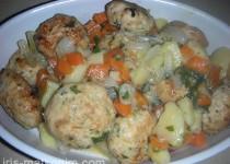 קציצות עוף טחון עם ירקות (מתכון של דליה)