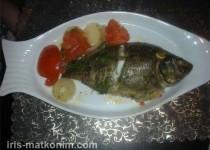 דגי מושט בתנור (אמנון)