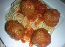 פסטה ברוטב עגבניות עם בשר