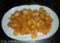 תבשיל תפוחי אדמה פיקנטי. (מתכון הודי)