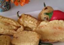 פלפלים ננסיים ממולאים – מירצ'י פקורה