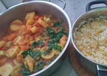 קיצ'רי- אורז עם עדשים