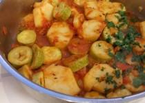 בהג'י ( תבשיל) קישואים ותפוחי אדמה