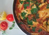 פילה מושט ברוטב עגבניות