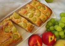 עוגת דובדבנים/ענבים