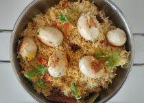Egg pulao – פולאו ביצים