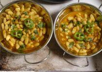 תבשיל שעועית לבנה בסגנון הודי